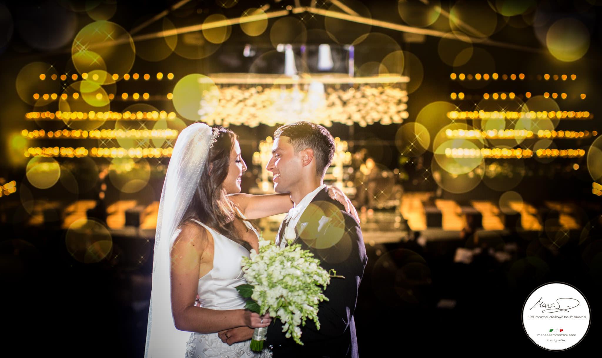 Primeiro casamento da historia na Opera de Arame!