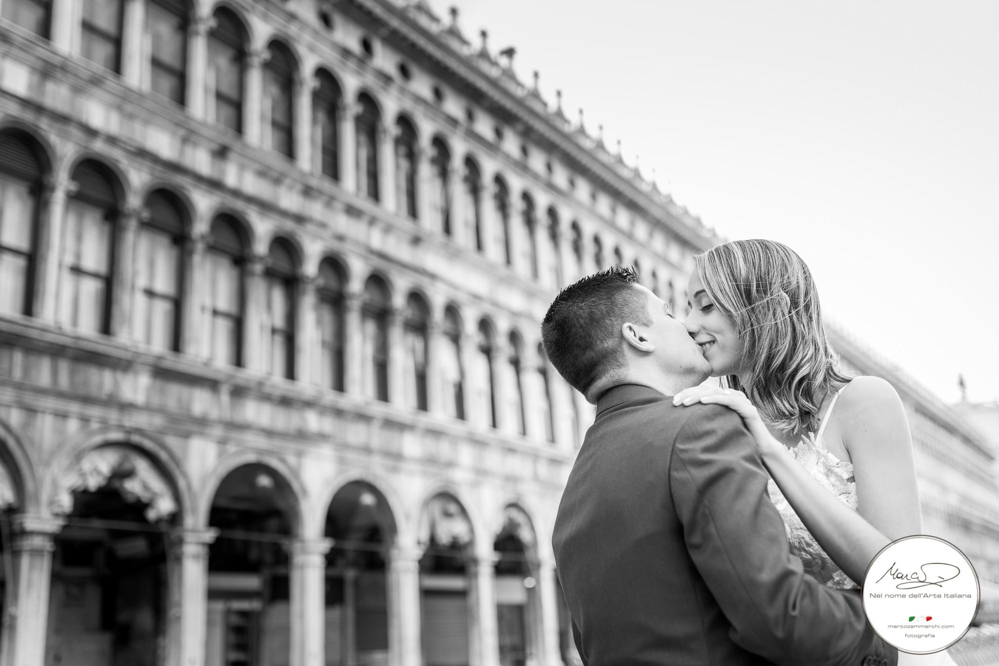 Ensaio fotográfico pré wedding em Veneza