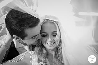 Fotografia de casamento no Clube Curitibano
